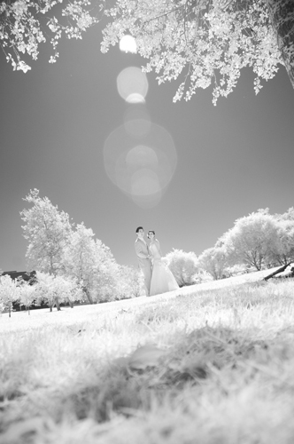 Infrared Wedding Photography Huntington Beach