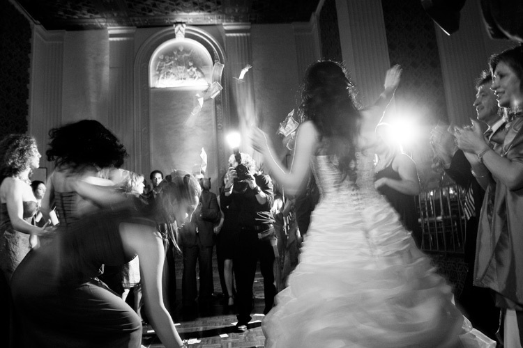 Bride Dances at the Millennium Biltmore Hotel