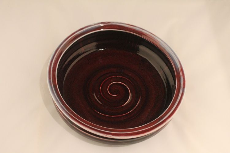 "This is my favourite baking dish!!Price  - I don't know yet.10 1/2"" w x 3 1/2"" ht"