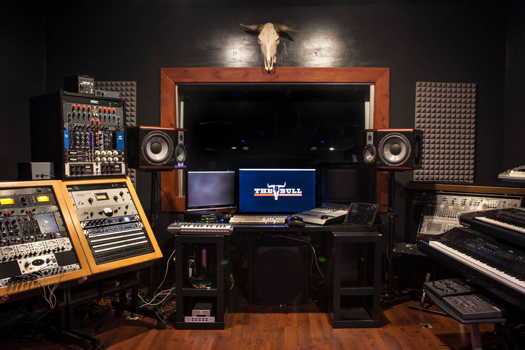 The Bull Productions Recording Studio