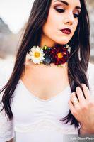 Floral Necklace Detail