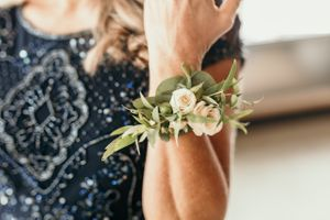 Mothers Wedding Wrist Corsage