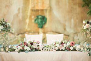 Sweetheart Wedding Centerpiece Garland