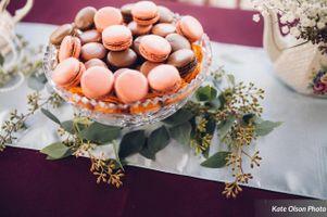 Macaroon Dessert Table