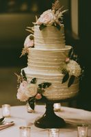 Three Tier Wedding Cake Flowers