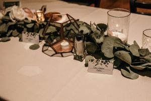 Wedding Reception Decor and Garland