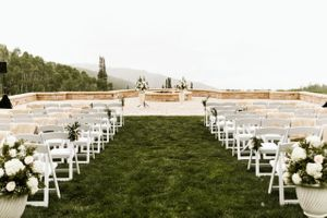 Ceremony Aisle with Flowers