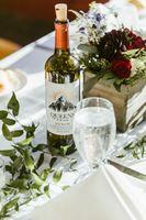 Head Table whiskey burgundy arrangements