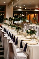 Wedding dinner and reception decor