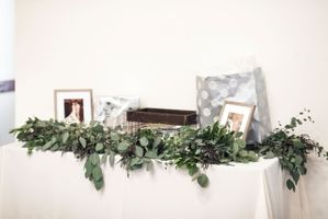 Gift Table Greenery Garland