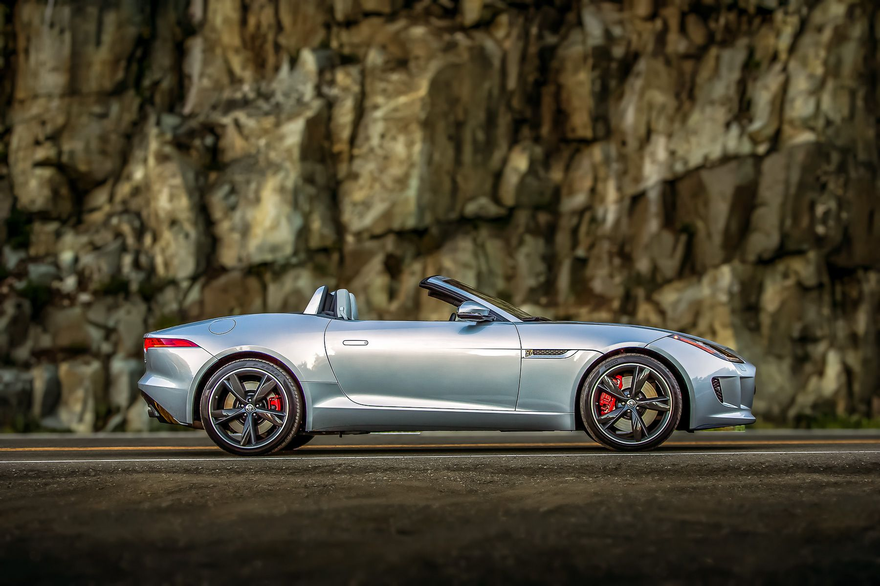 Jaguar F-Type, Mt. Ranier