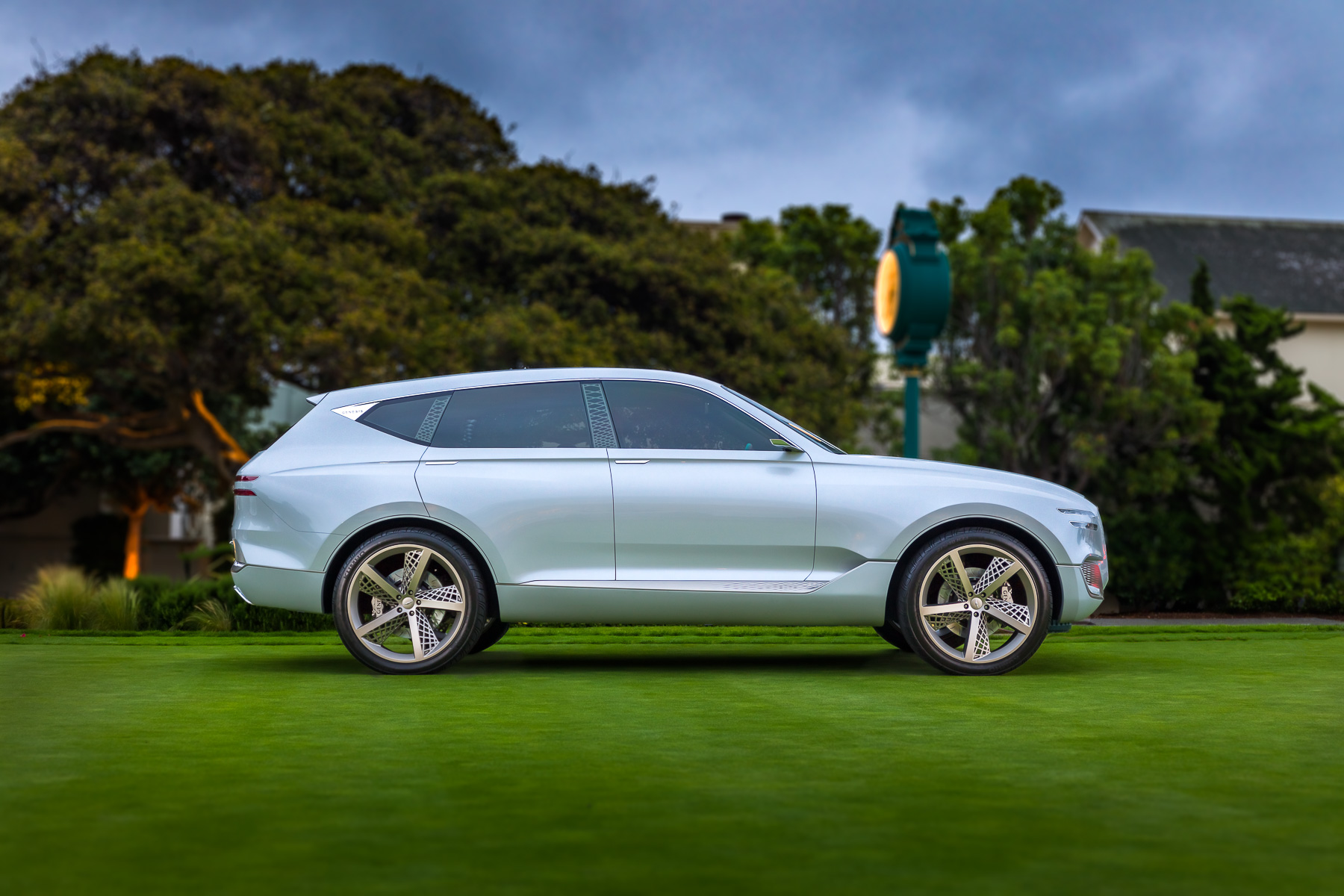 Genesis  GV80 concept at Pebble Beach