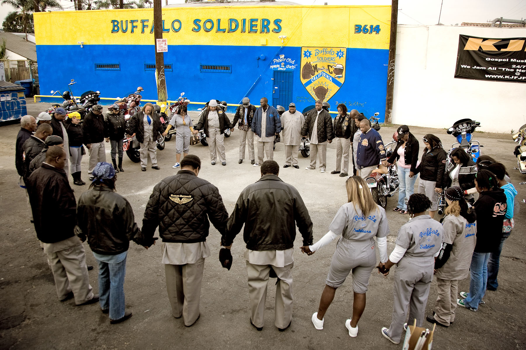 Buffalo Soldiers, pre-ride prayer