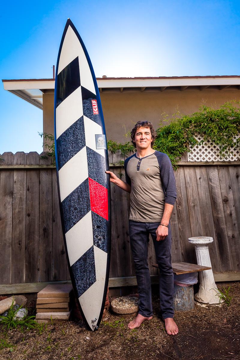 Greg Long, big wave surfer