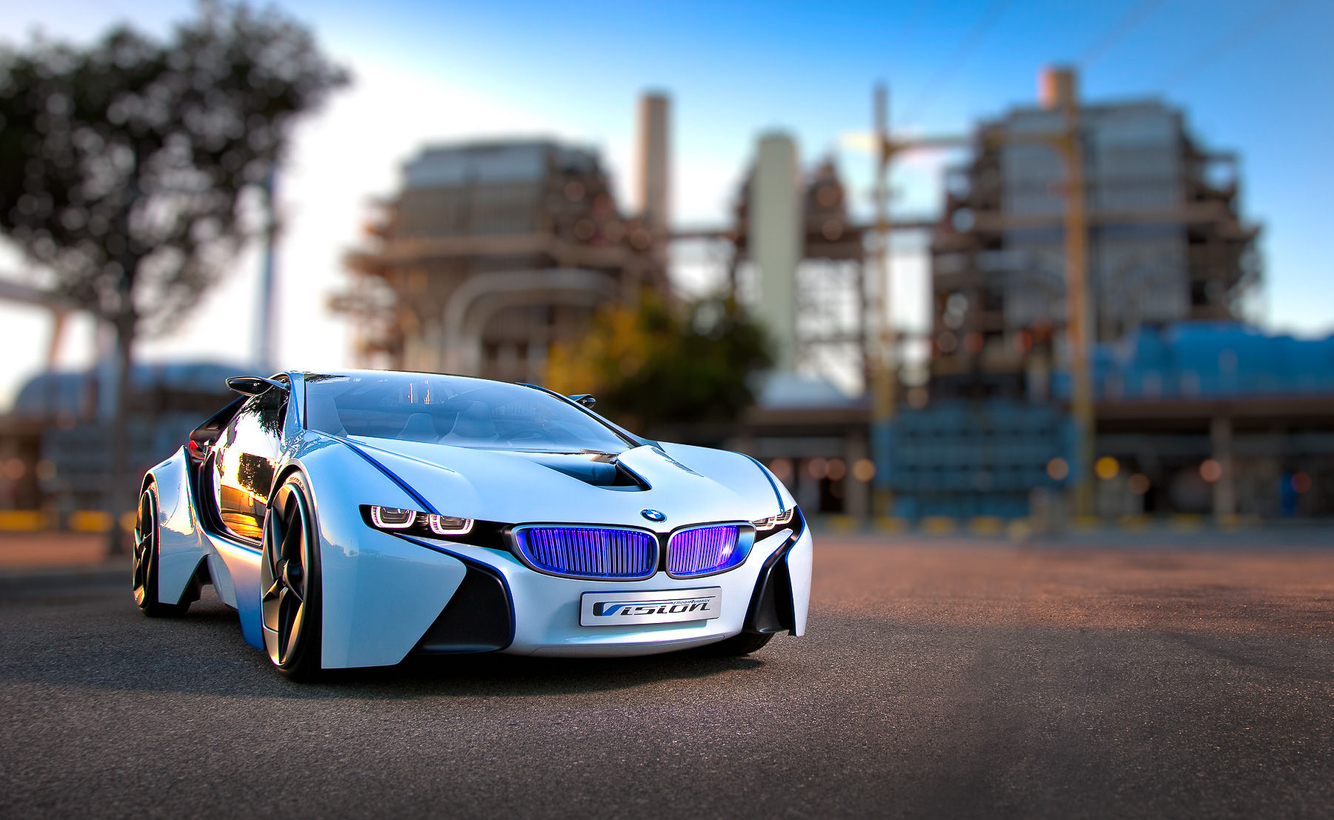 BMW concept for ROAD & TRACK