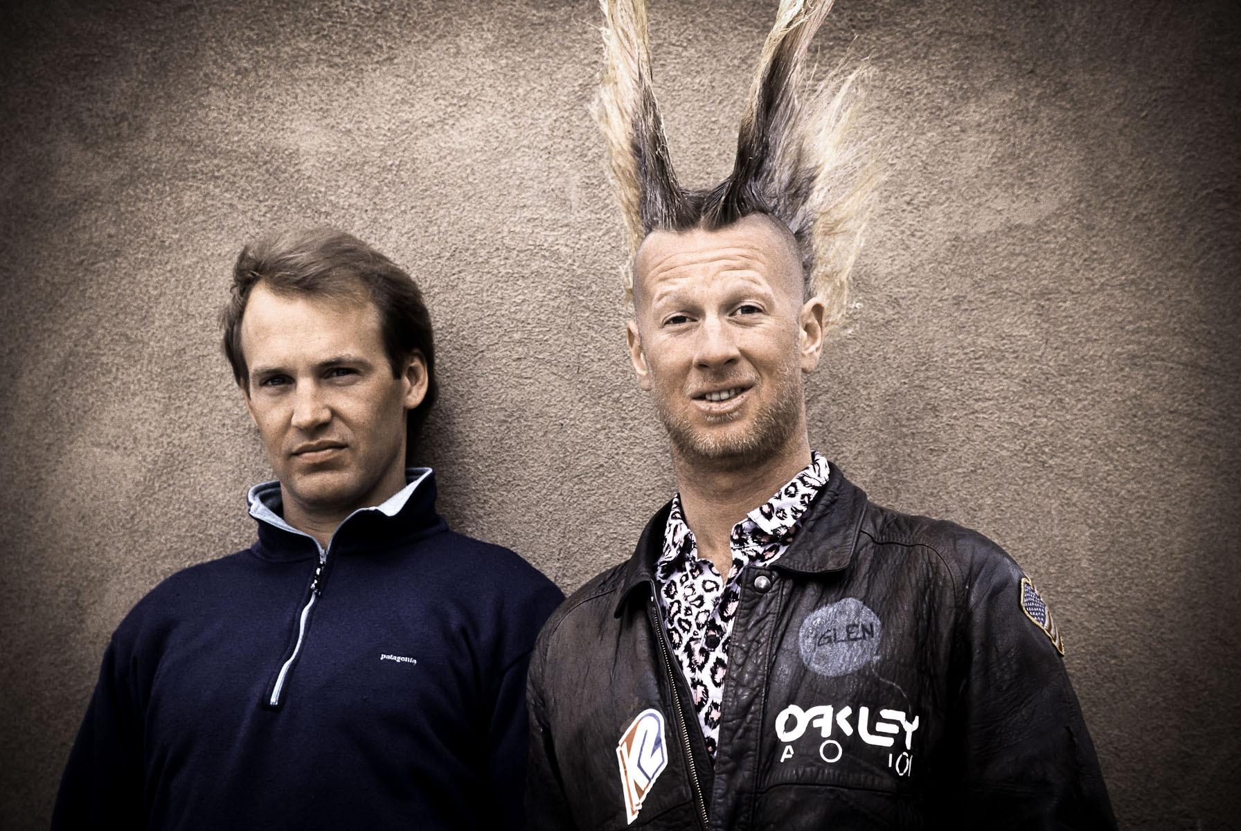 Glen Plake and Mike Hattrup
