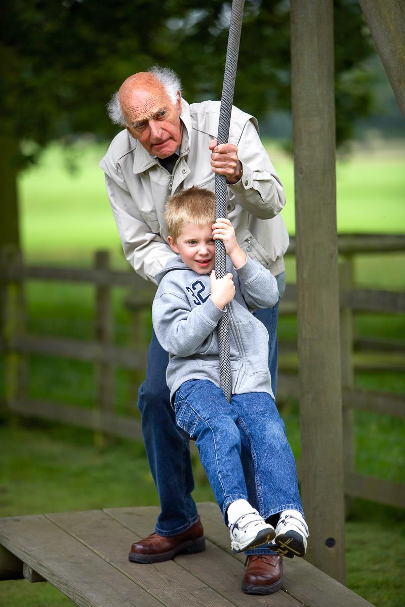 Cameron & grandad