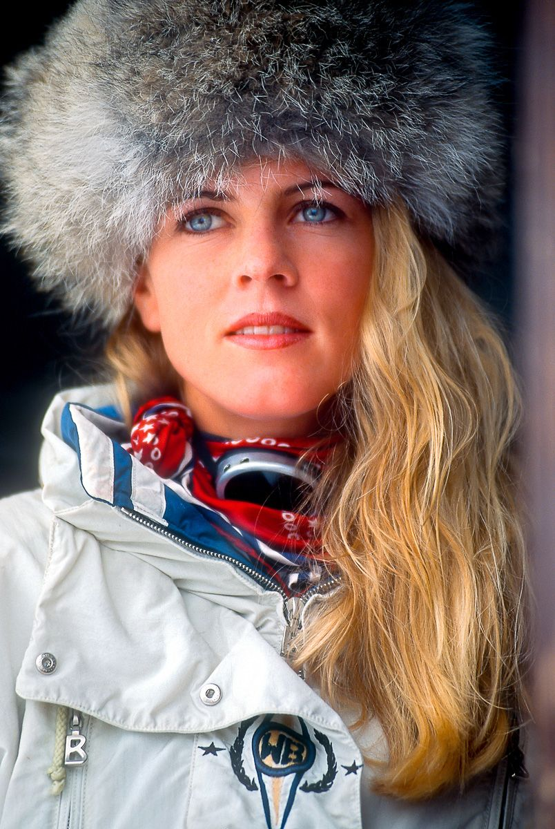 Anke Banik, Bogner catalog shoot