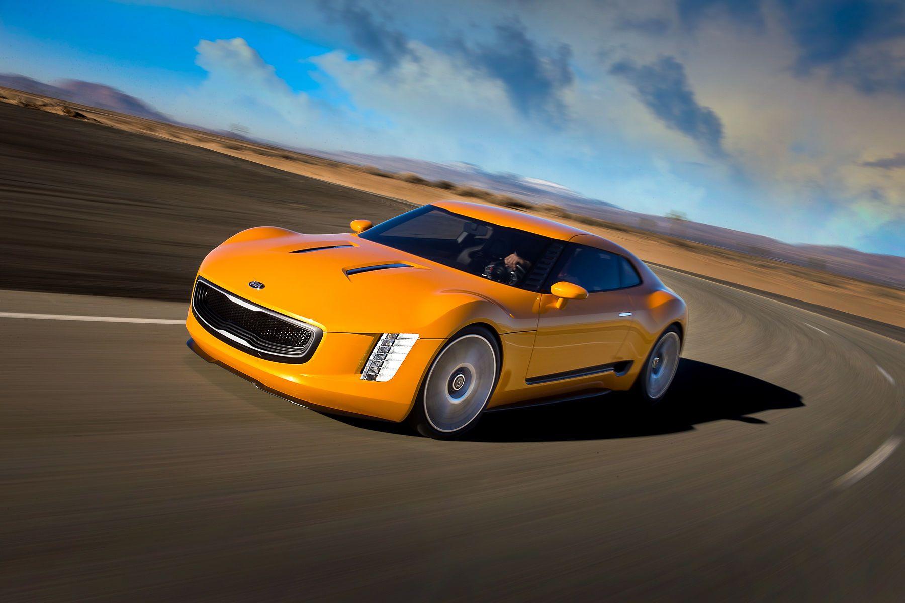 Kia GT-4 Stinger concept