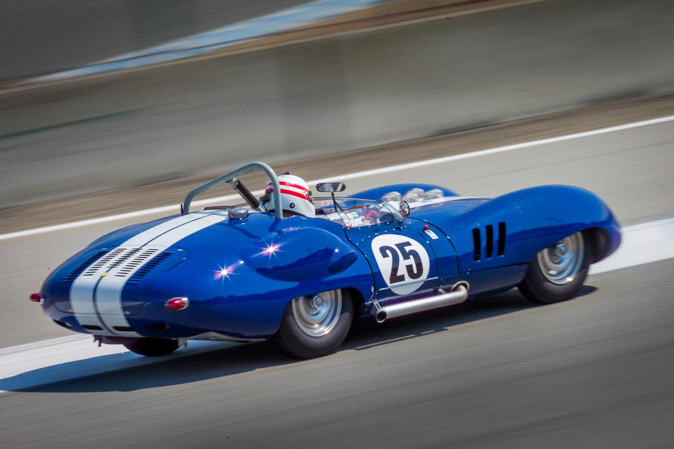 1959 Lister Costin, Rolex Motorsports Reunion