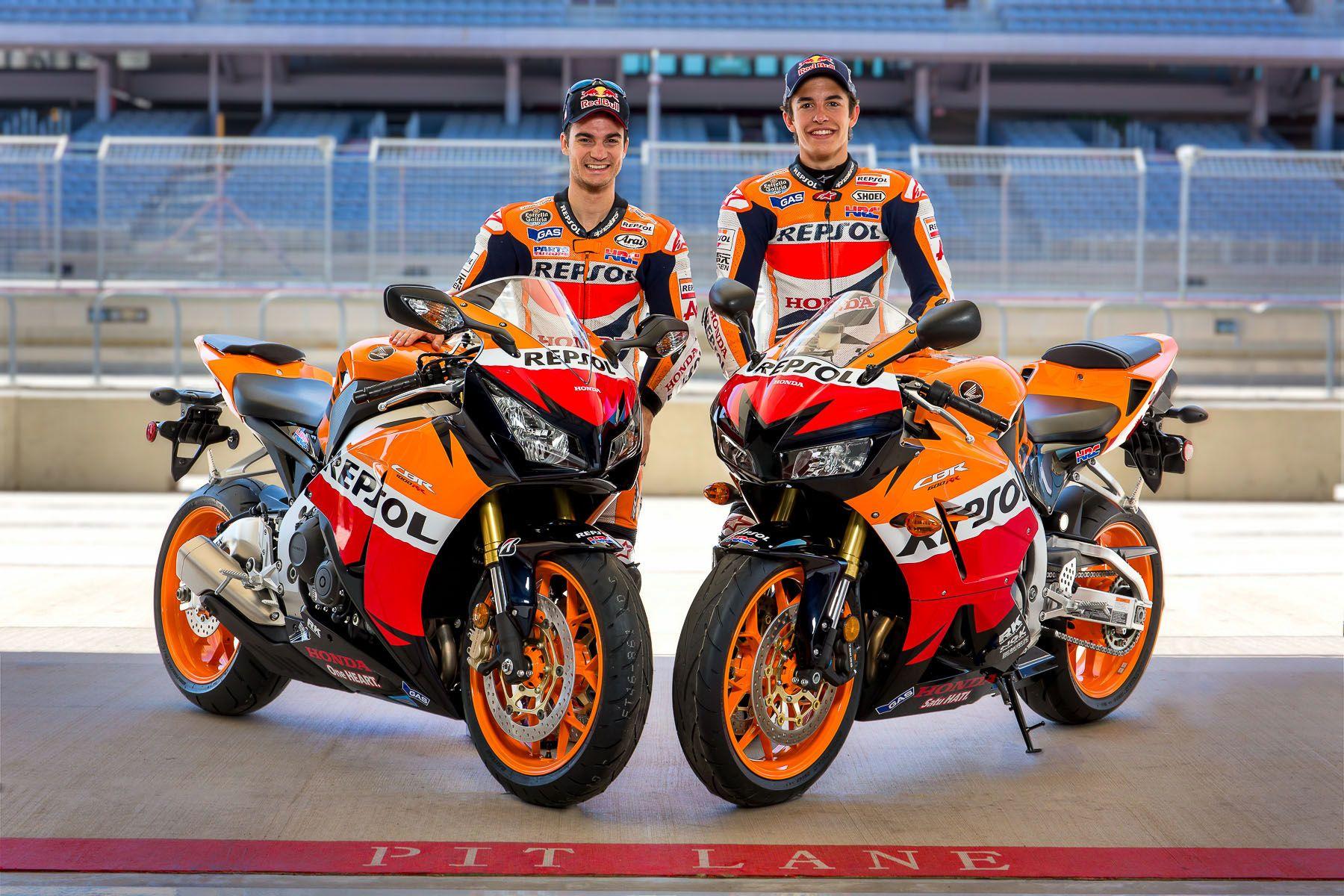 Marc Marquez & Danny Pedrosa