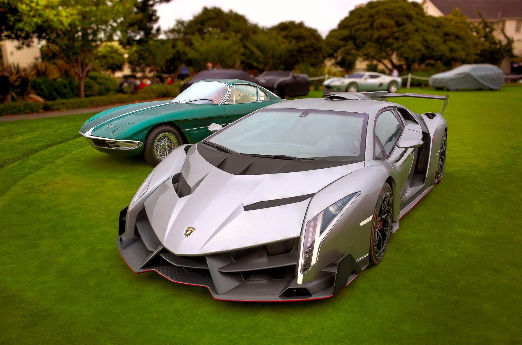 Lamborghini Veneno & 350 GTV, Monterey Car Week