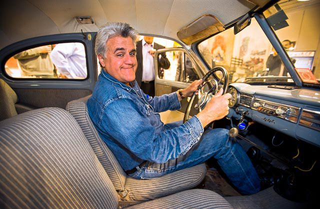 Jay Leno, a gifted Volvo