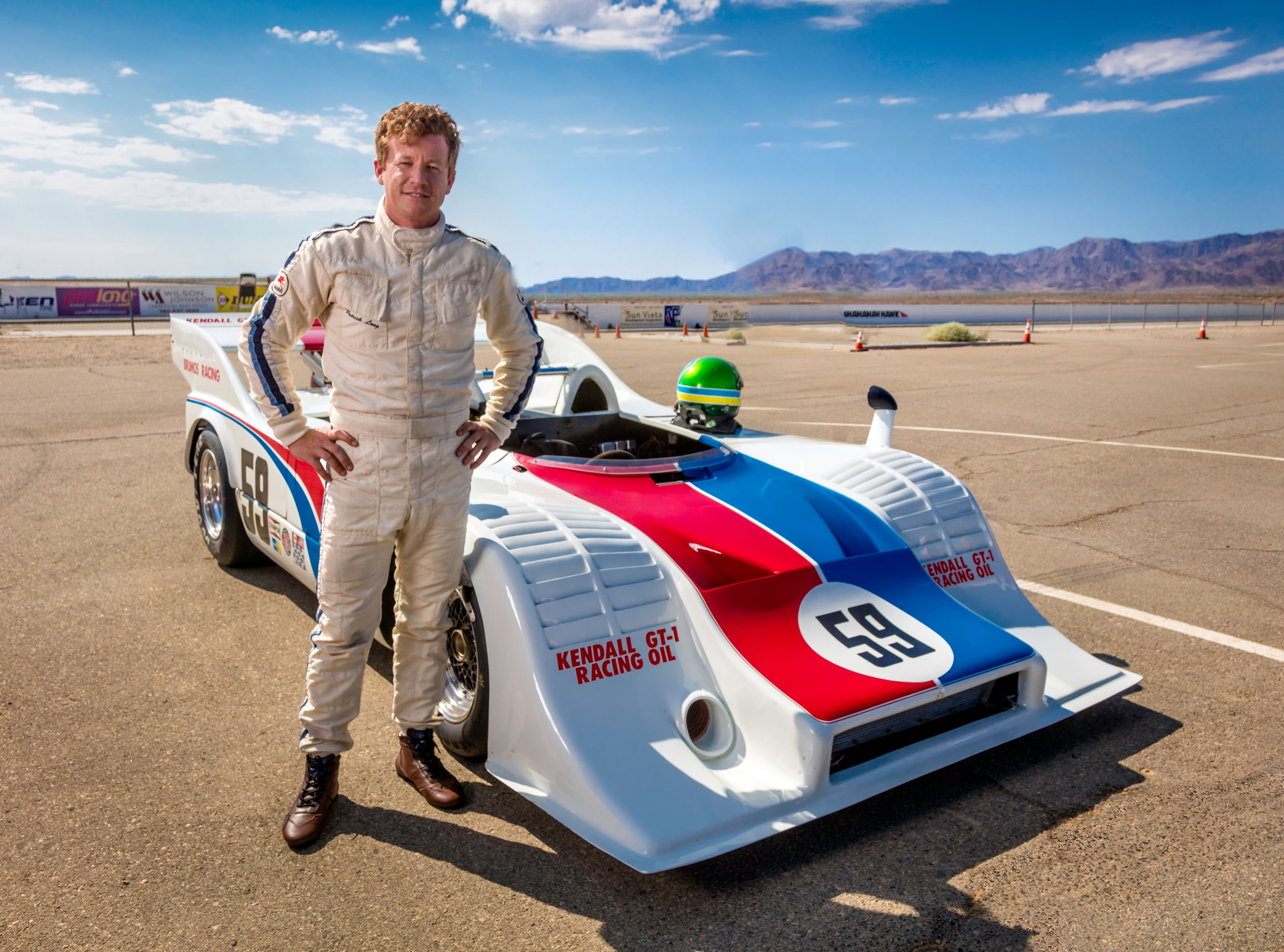 Patrick Long with Porsche 917-10-007