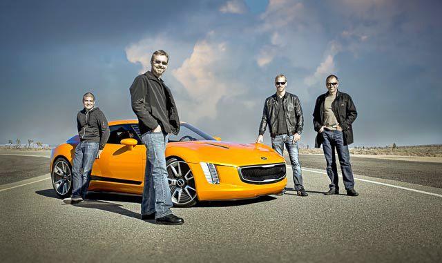 Kia GT-4 concept design team