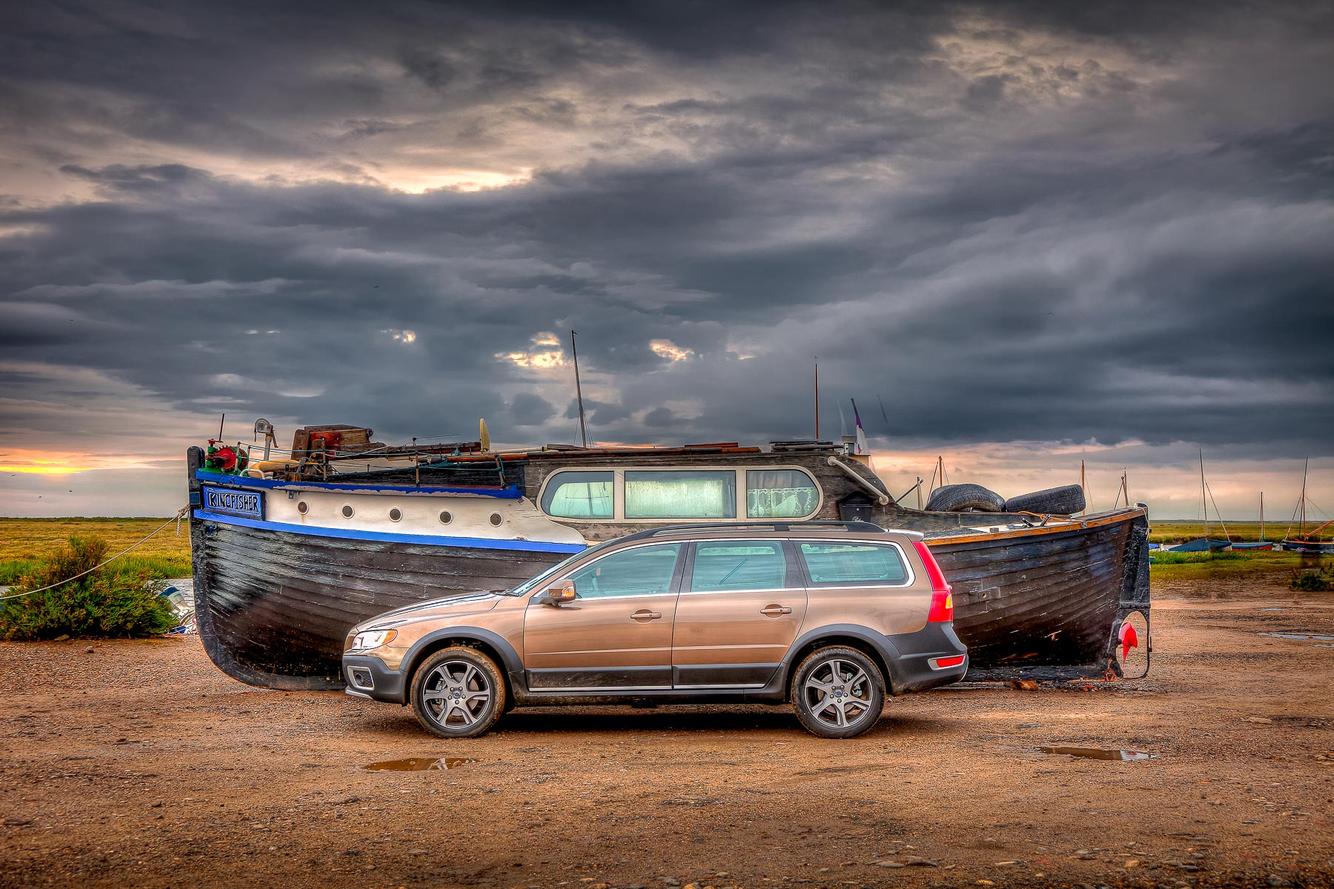 Volvo XC70, Blakeney, UK