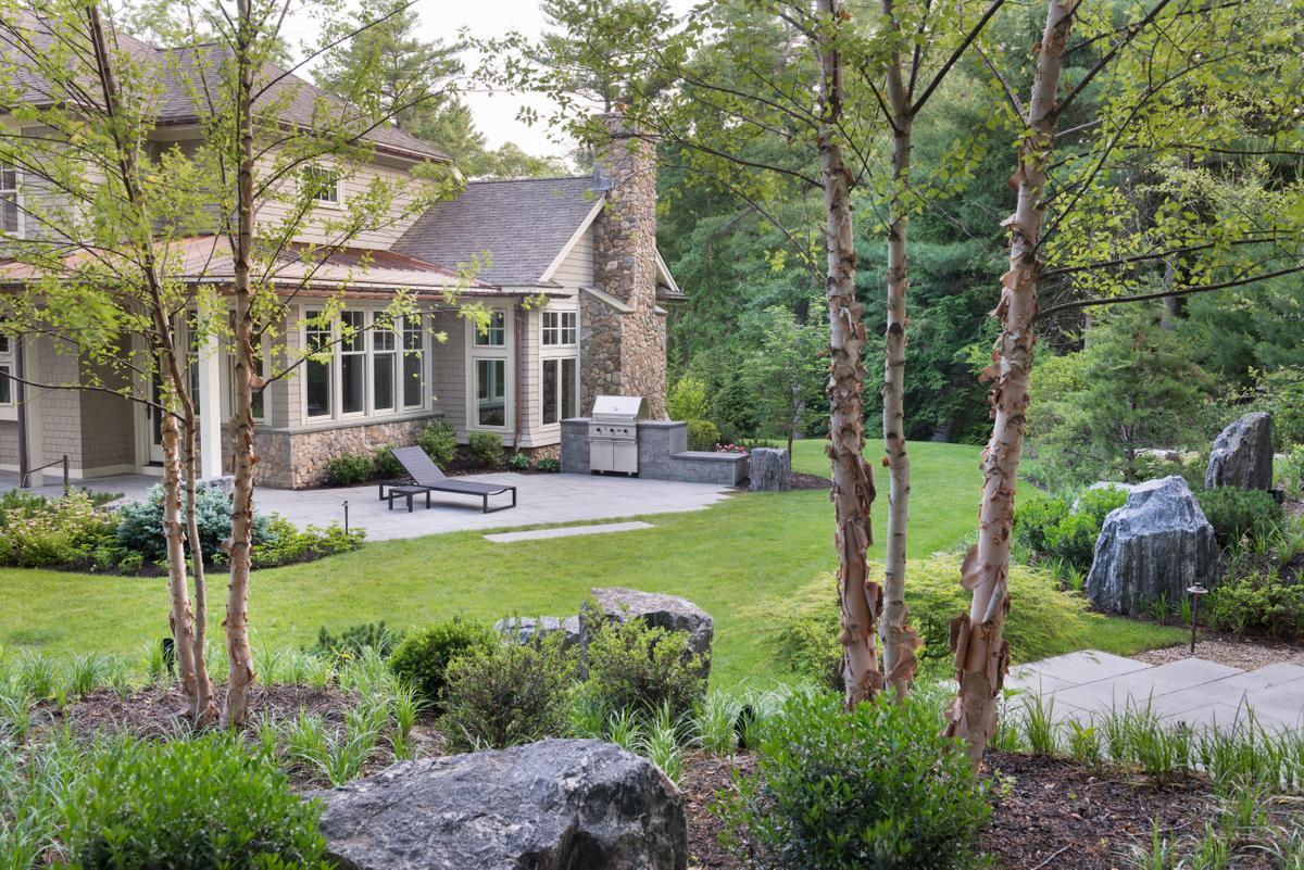 Terrace designed with Zen Associates