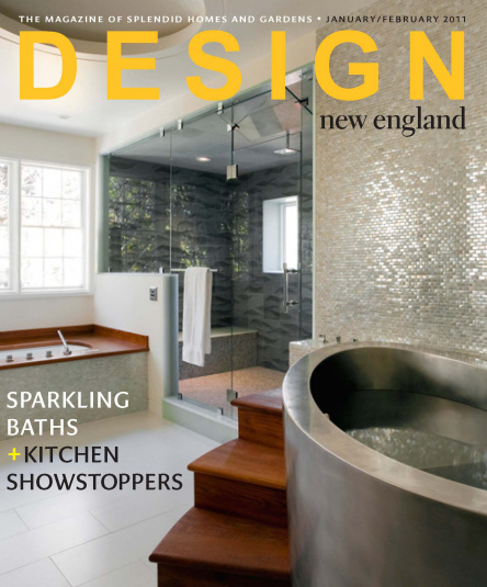 Design New England Magazine cover