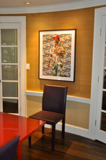 Fine Art details in Dining room