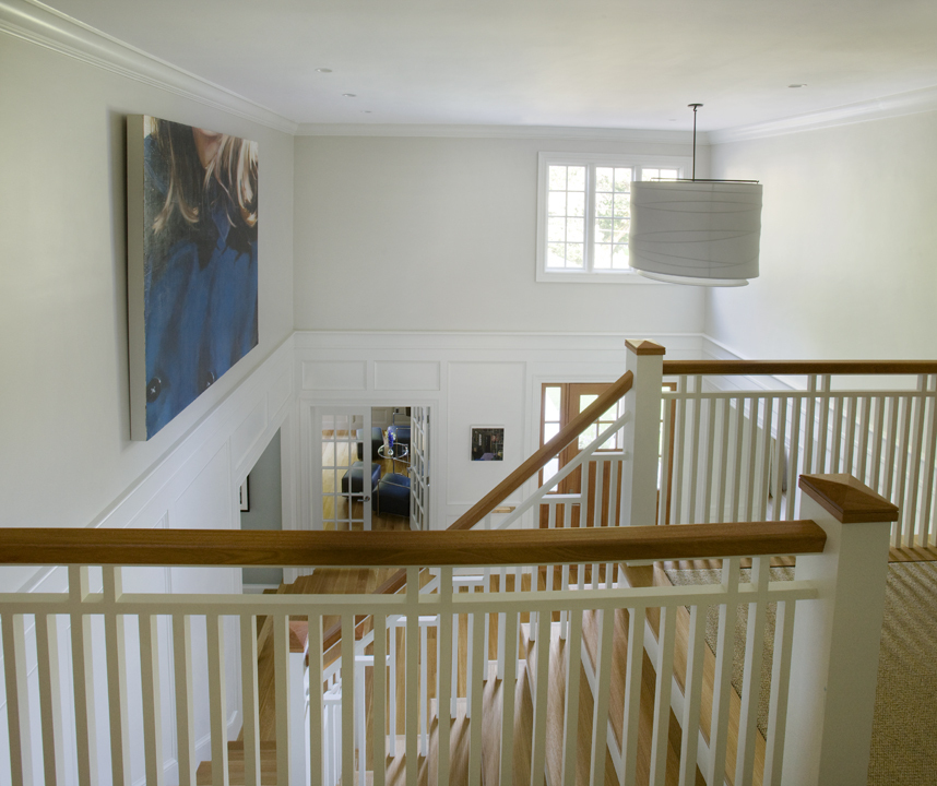 Front Hall designed by Christine Tuttle