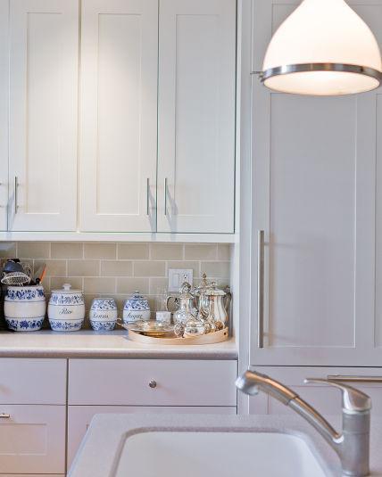Kitchen, tile, Sub Zero detail