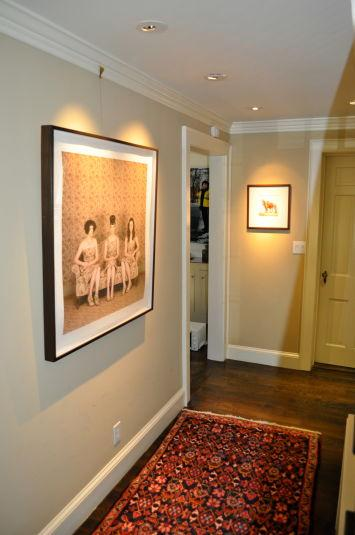 Fine Art Gallery Hallway