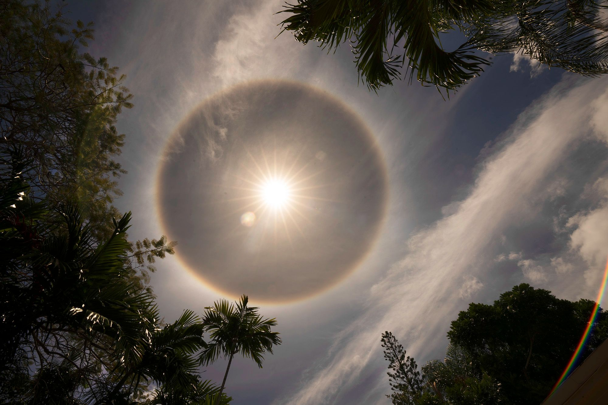 Sun with halo