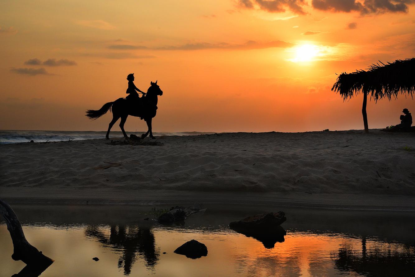Nosara - Horsebackrider