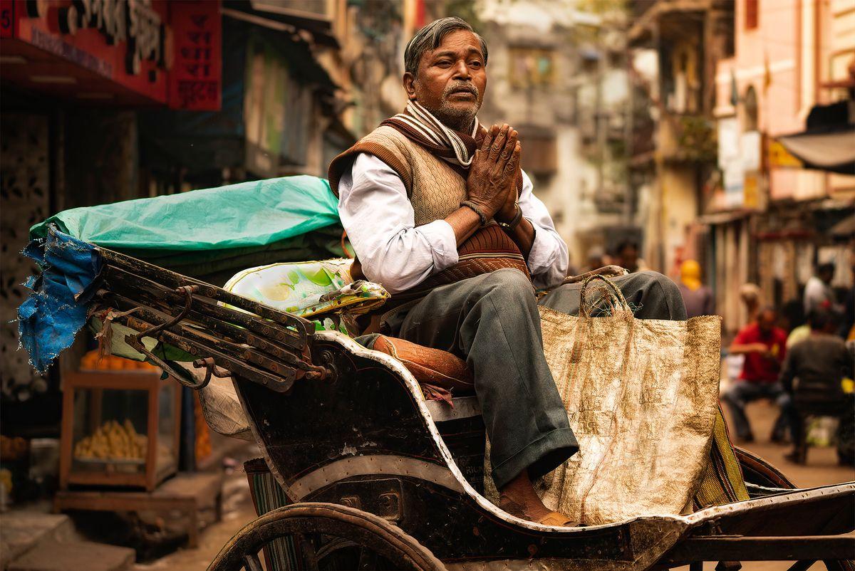 Kolkata Religious Man