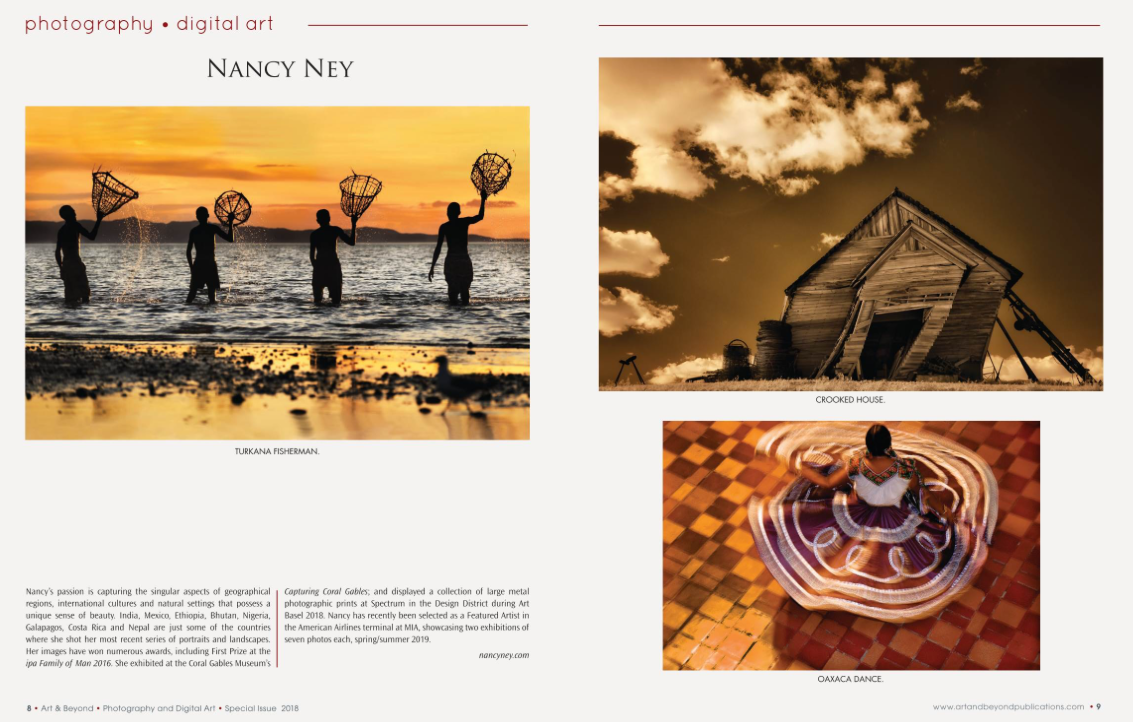 Photo Spread in Art and Beyond