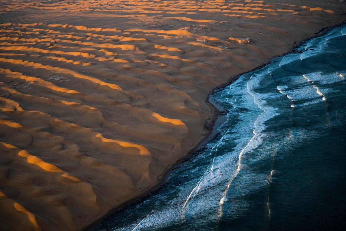Ocean meets the Dunes