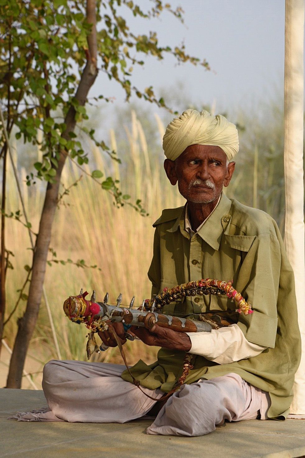 Musician in Manvar