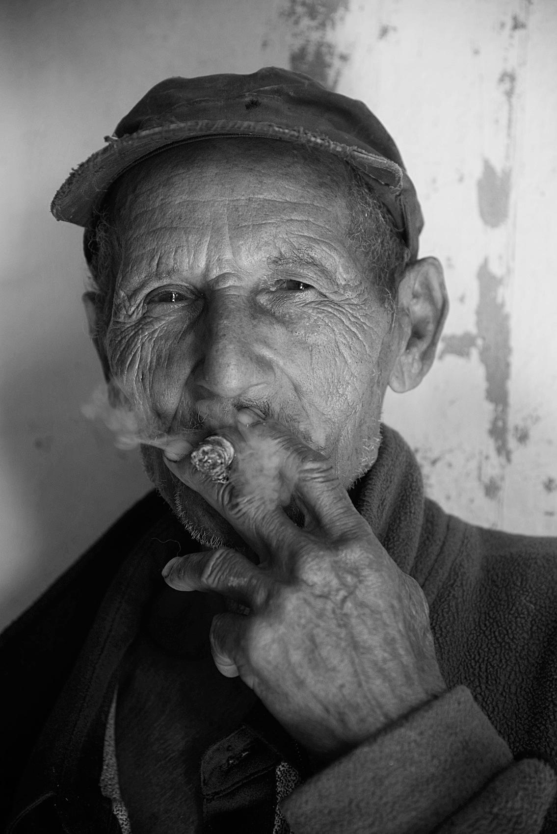 older man portrait