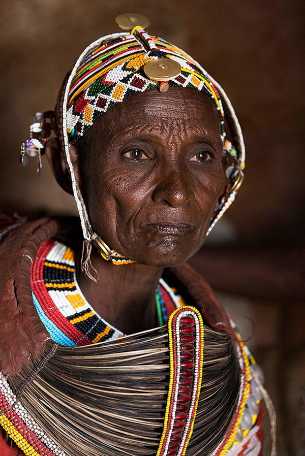 Turkana older woman