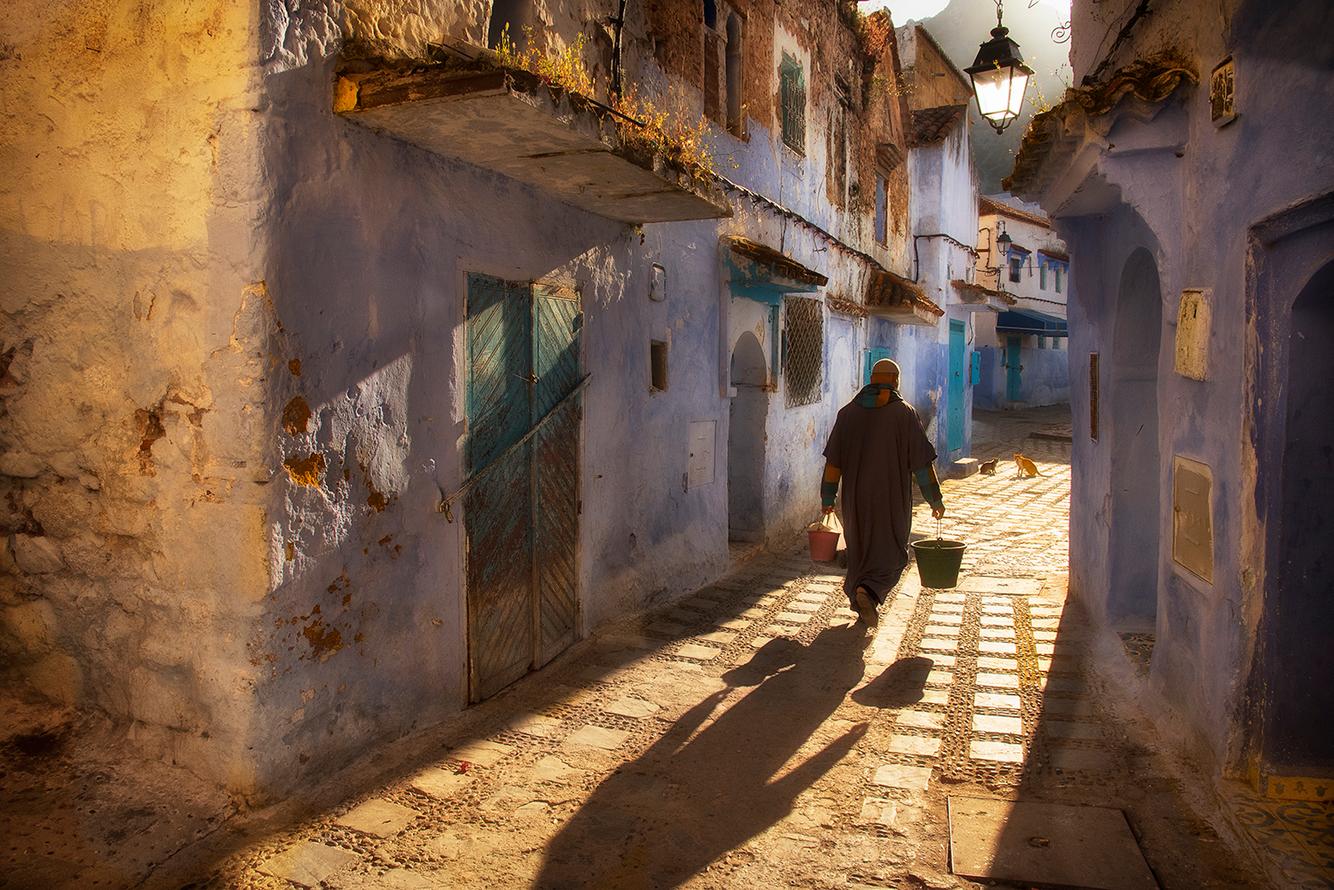 Street life , Morocco