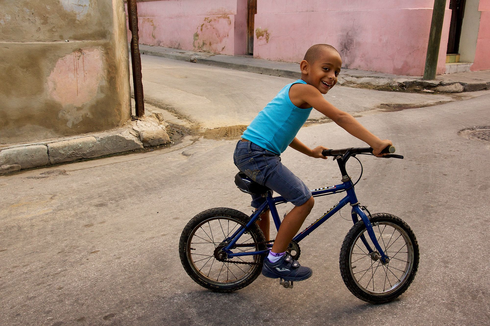 Young Cuban boy