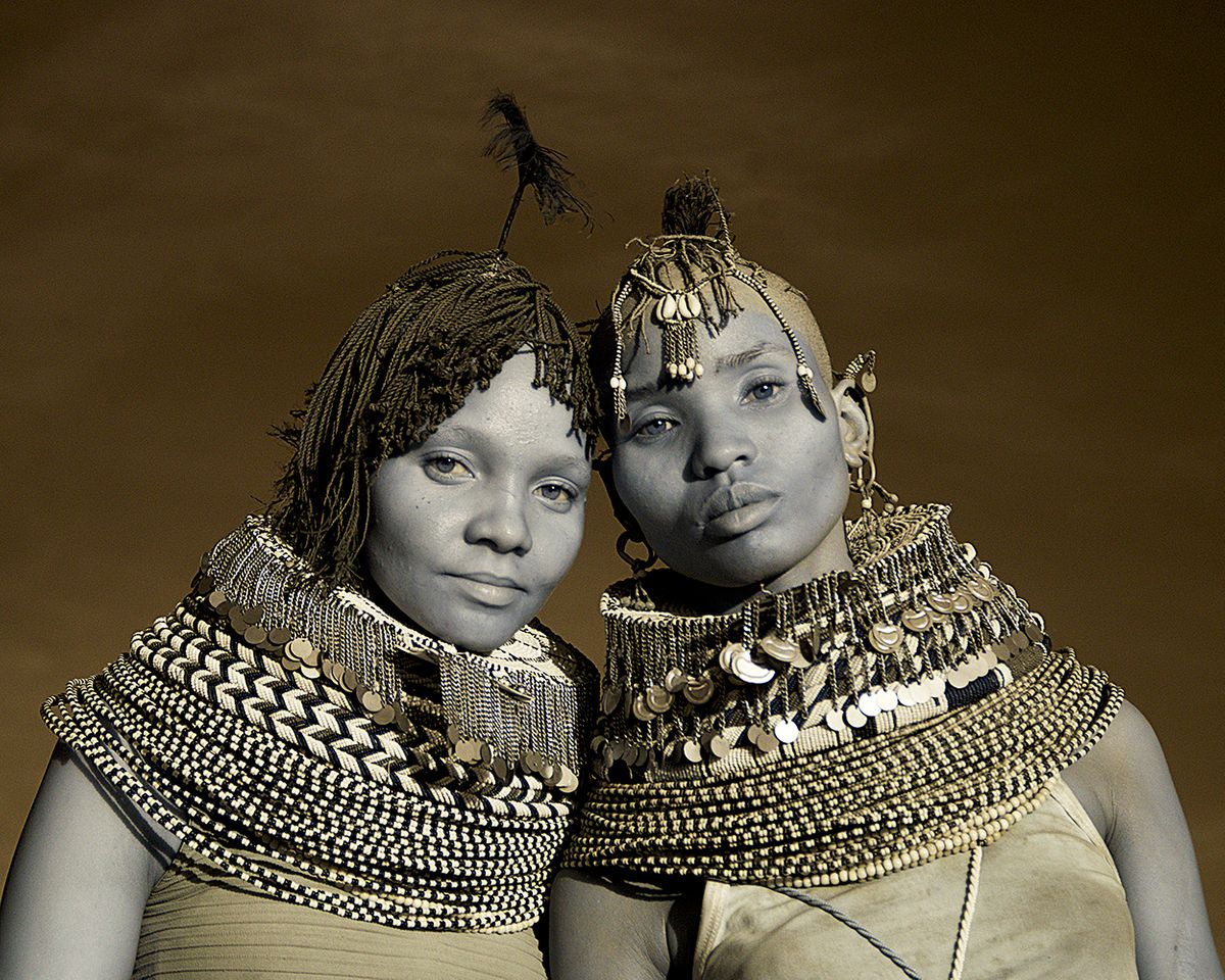 Two tribal girls