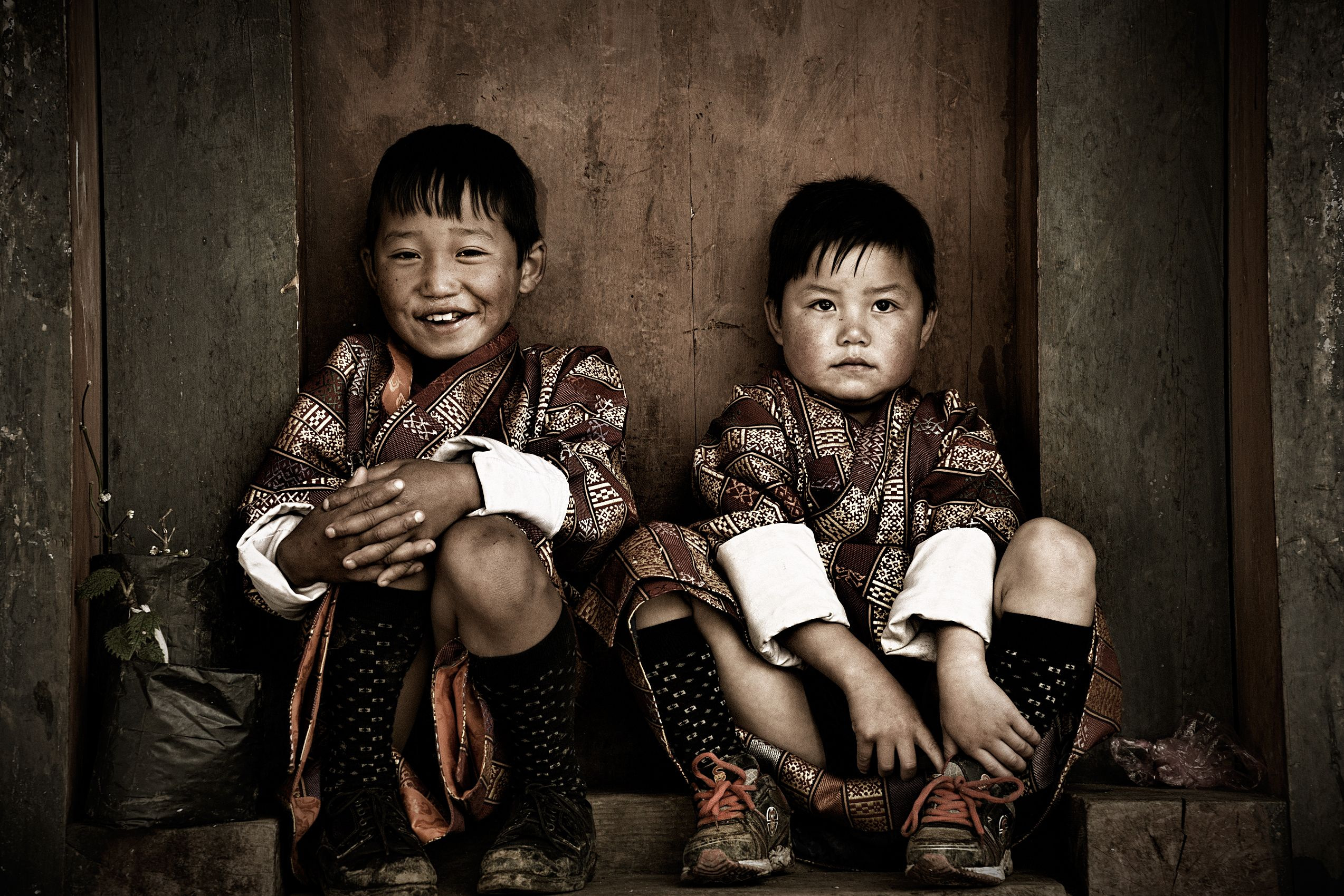 bhutan children photos