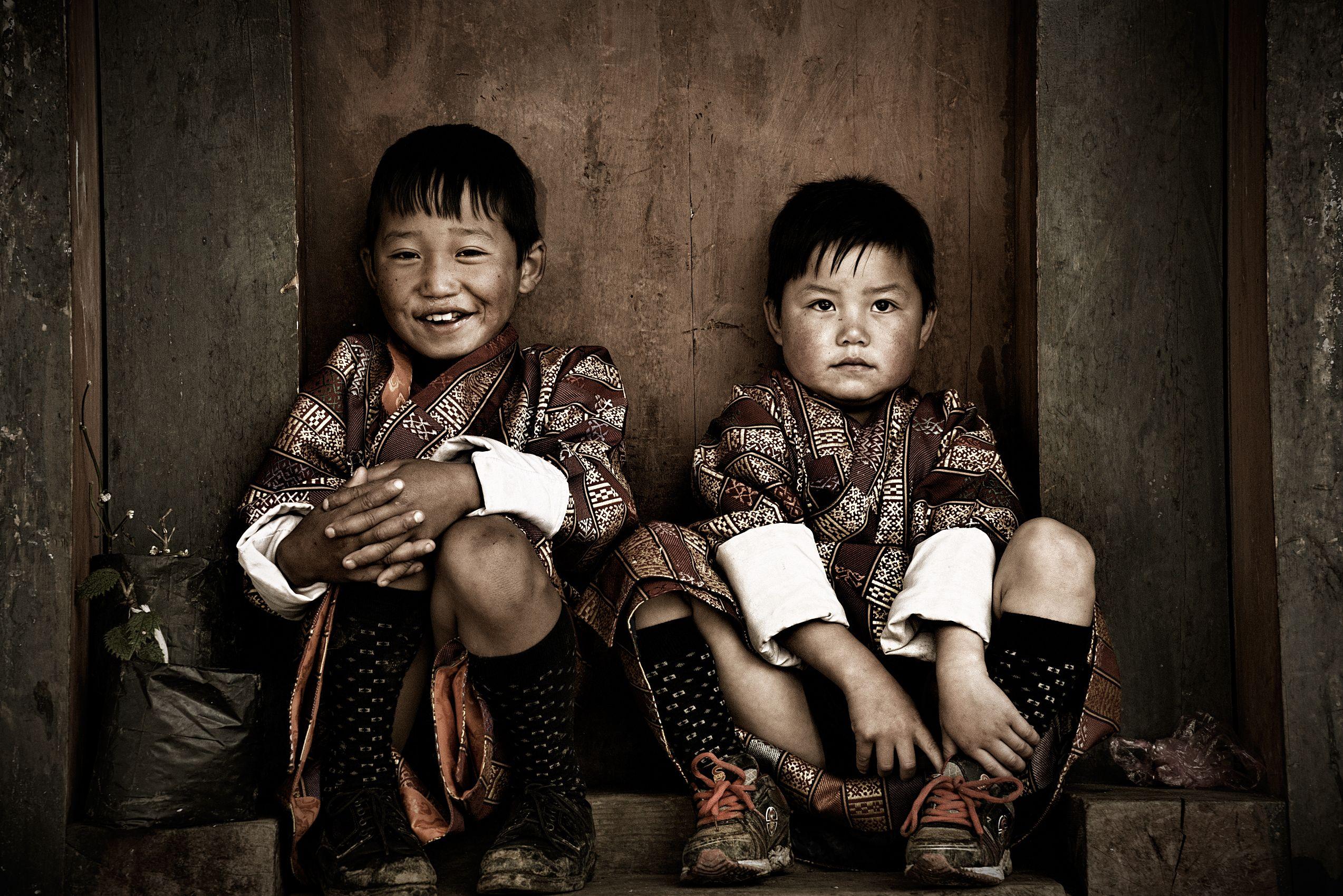 bhutan children photos