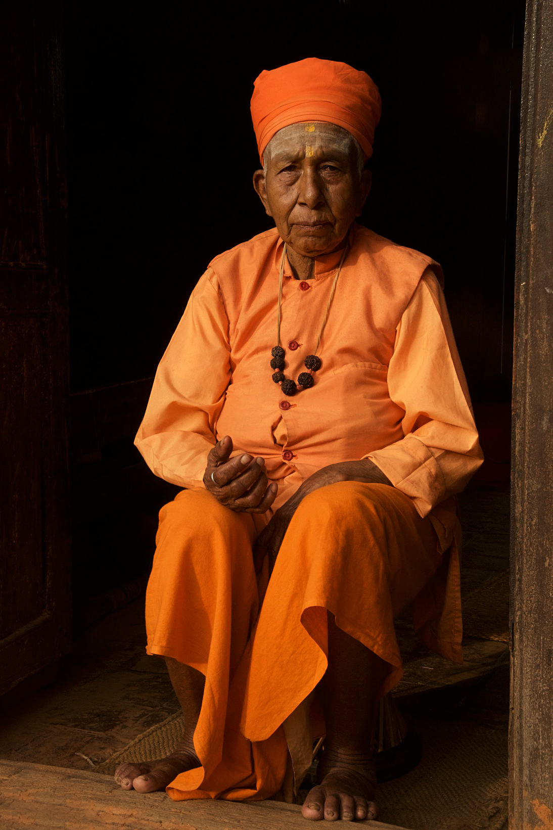 Picture of Saduh in Nepal